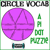 Circle Vocabulary Cooperative Puzzle for Display