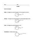 Circle Vocabulary Handout