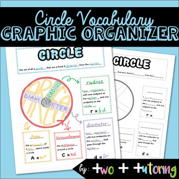 Circle Vocabulary Graphic Organizer