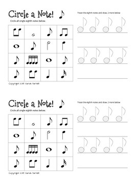 Circle a Note! Bundle