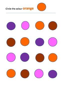 Circle a colour 2