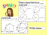 Circle and Angles Points Board