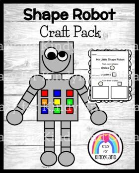 Circle and Square Robot Craft