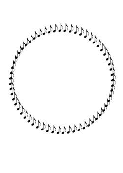Circle borders and frames