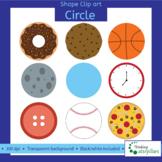 Circle objects 2D Clip art (shapes)
