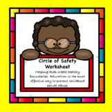 Personal Safety: Circle of Safety Worksheet