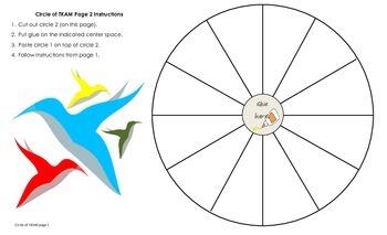 Circle of To Kill a Mockingbird TKAM Culminating Activity or Novel Review