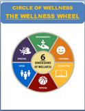 "Circle of Wellness- ""The Wellness Wheel"" plus activities(D"