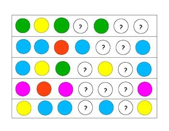 Circle pattern strips