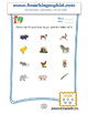 Preschool worksheets of Circle the Picture that begin with Letter.