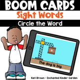 Circle the Sight Word - Boom Cards