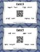 Circle the Sounds QR Code Task Cards Set 1 IREAD PHONICS