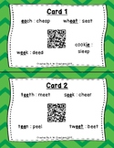 Circle the Sounds QR Code Task Cards Set 3 IREAD Practice