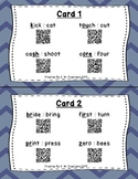 Circle the Sounds QR Code Task Cards Sets 1 to 3 IREAD Practice BUNDLE
