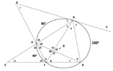 Circle with Angles, Secants, Chords, & Tangents (Quiz)