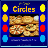 4th Grade Circles Powerpoint Lesson