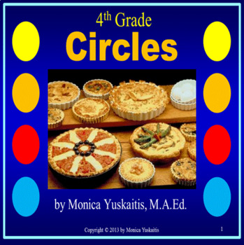 Common Core 4th - Circles