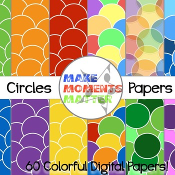 Circles  --  A Digital Paper Pack!