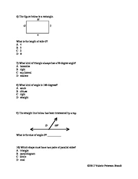 Circles, Angles, and Figures Class Work