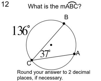Circles, Arcs, Angles & Line Segments- 10 Assignments for Socrative & SMART