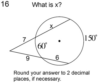 Angles And Segments In Circles Worksheet ...