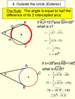 Circles, Arcs & Angles 2 References, 6 Lessons & 14 Assignments for SMART
