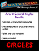 Circles - Identifying Central Angles & Arcs and Finding Th