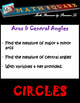 Circles - Finding the Measures of Arcs & Central Angles with Variables