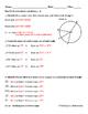 Circles - Identifying Major Arcs, Minor Arcs, & Central Angles