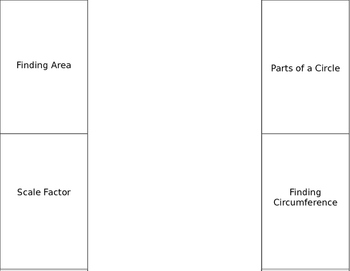 Circles Area Circumference Foldable