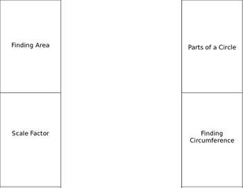 Circles Area Circumference Foldable