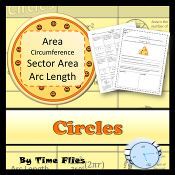 Circles: Area, Circumference, Sector Area, Arc Length and Radians