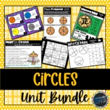 Circles Unit Bundle; Geometry, Secants, Tangents, Area, Ci