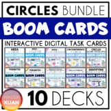 Circles Bundle Boom Cards Distance Learning