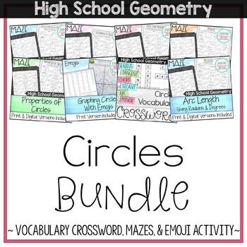 Circles Bundle - High School Geometry
