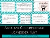 Circles: Circumference & Area Scavenger Hunt