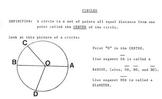 Circles & Circumference of a Circle