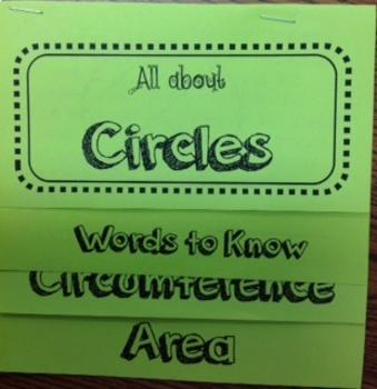 Circles - Flip Book