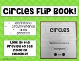 Circles Circumference Area Foldable Flipbook