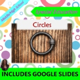 Circles:  Geometry Unit for Special Ed with lesson plans