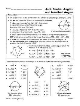 Circles (CCSS HSG-C.A.1, 2, 3)