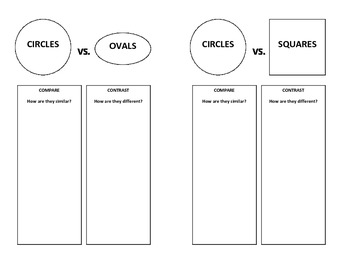Circles - Graphic Organizer