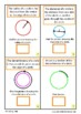 Circles Geometry Interactive Adapted Book, Autism Math, Sp