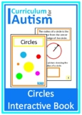 Circles Geometry Interactive Book Autism Special Education