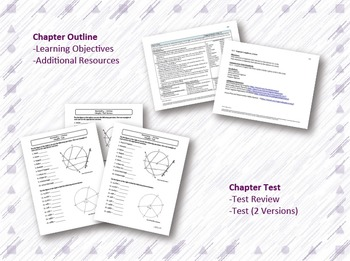 Circles Lesson Plan Bundle