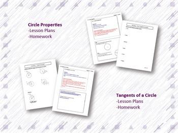 Circles Lesson Plan Bundle