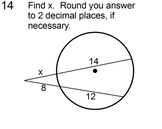 Circles - Line Segments, Arc Length & Sector Area for SMART Notebook