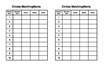 Circles MatchingMania