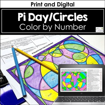 Pi Day/Circles Color by Number
