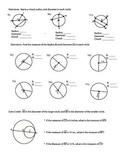 Circles ~ Radius, Diameter,  or Chord